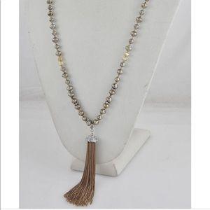 Stella & Dot Tassel Necklace